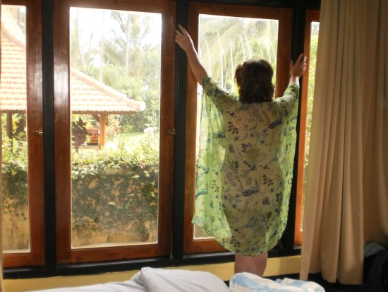 Bali au Naturel: Enjoy the garden view