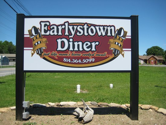 Centre Hall, PA: The restaurant sign off Route 45