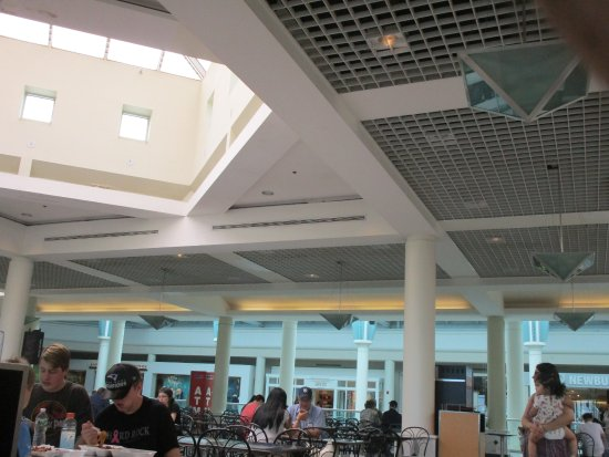 The Food Court At Emerald Square Mall