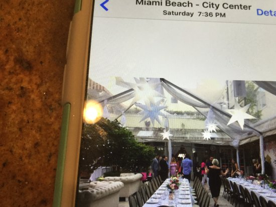 Villa Azur Restaurant & Lounge: Set up for graduation party!