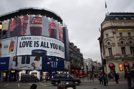 Photo of Historic Site Piccadilly Circus at London W1J 9HS, United Kingdom
