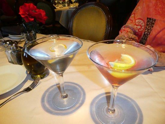 Darcy's Ristorante: Full Pour Martinis