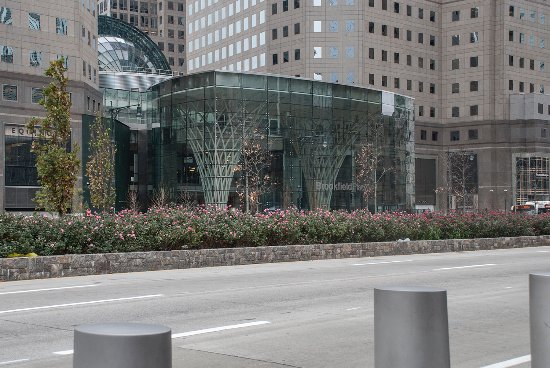 Across West St From Wtc 1 Is Brookfield Place Winter