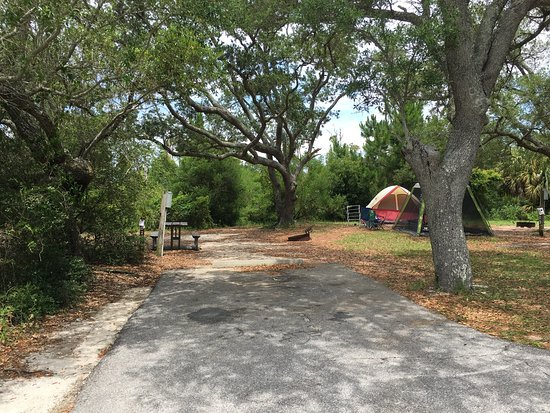 Fort Pickens Campground Campsite D24 And New Bathroom Facility