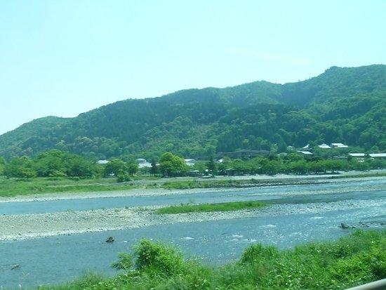 Kyoto Prefecture, Japón: 桂川の流れ