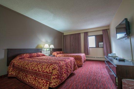 Argyll Plaza Hotel: double bed room - smoking