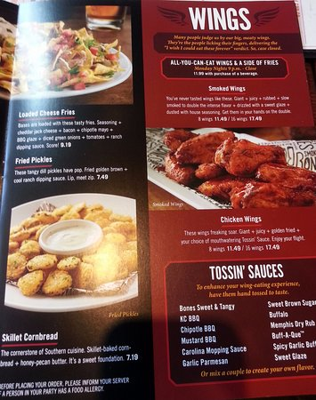 recipe: smokey bones menu [9]