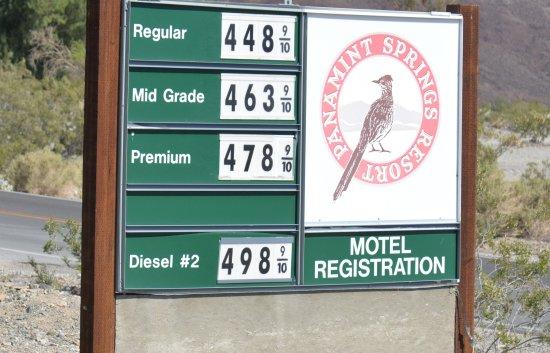 Panamint Springs Resort: Exorbitant Gas prices