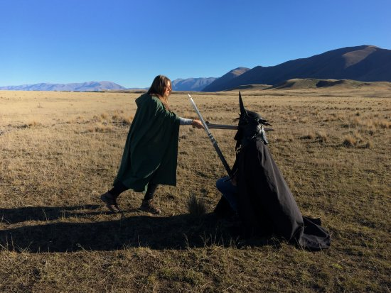 Lord of the Rings Twizel Tour : I am no MAN!
