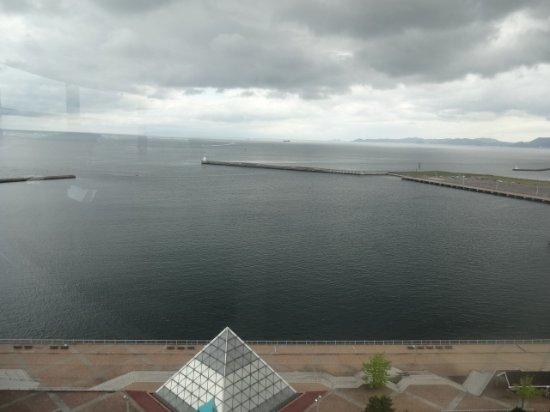 Aomori Prefecture Tourist Centerl ASPAM: 展望台からの眺め