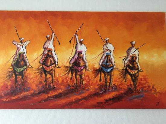Ensemble Artisanal: Canvas painting