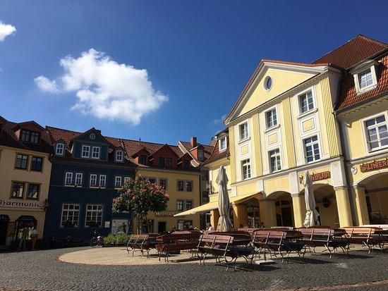 Der Buttermarkt in Gotha - ゴ...