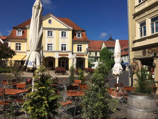 Der Buttermarkt in Gotha
