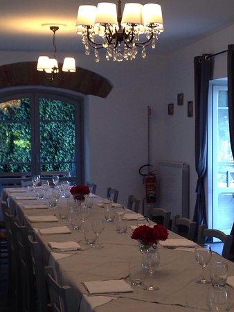 Cave, Italië: ristorante villa etra