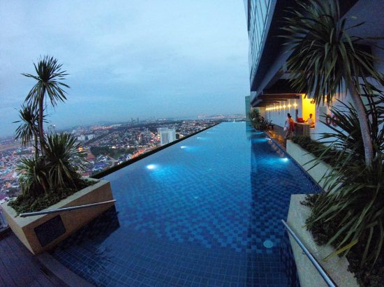 Holiday villa johor bahru city centre public infinity pool city view of jb picture of Public swimming pool in johor bahru