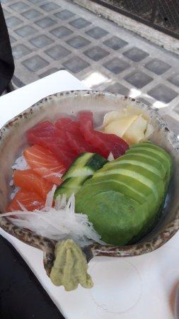 bol de riz poisson avocat picture of ichioshi sushi bar. Black Bedroom Furniture Sets. Home Design Ideas