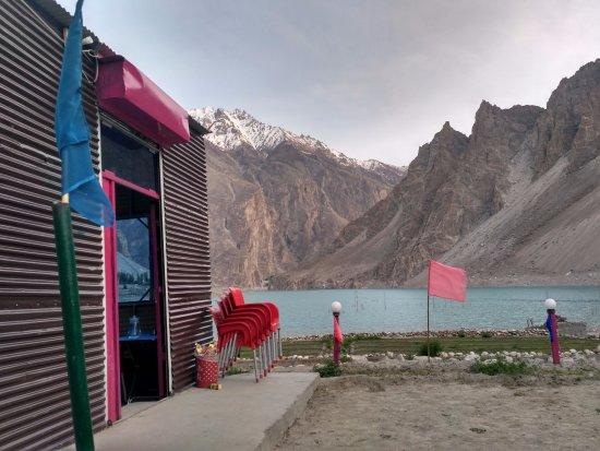 Concordia, KS: Atta abad lake upper Hunza valley Gilgit Baltistan Pakistan