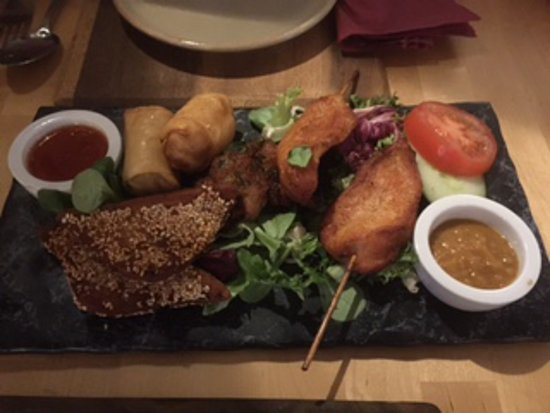 Great Abington, UK: Combo-Starter