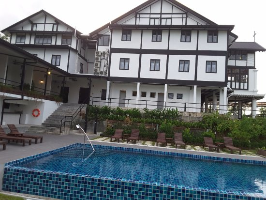 Sparkling New Pool Picture Of The Marian Boutique Lodging House Kuching Tripadvisor
