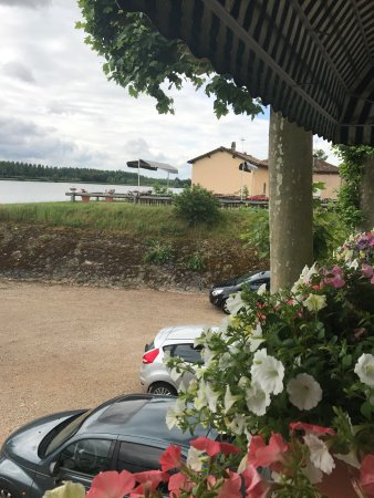 Crêches-sur-Saône, France : Restaurant Les Platanes