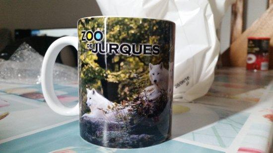 Mon souvenir du zoo de Jurques acheté à la boutique.