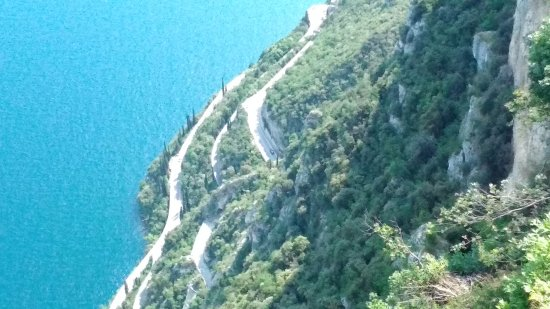 Vista dalla terrazza hotel paradiso - Bild von Terrazza del Brivido ...