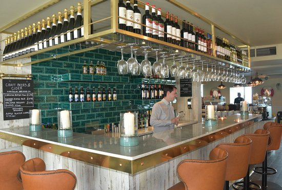 Bar Picture Of Pizza Express Newquay Tripadvisor