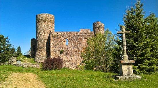 Champoly, France: Facade sud du Château