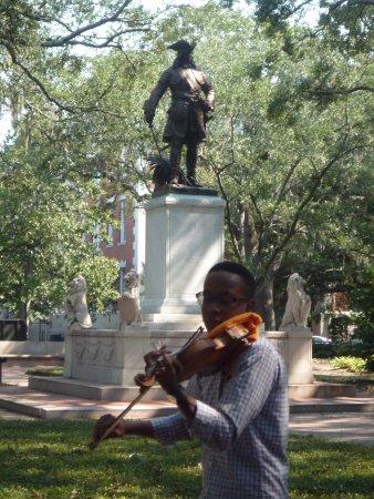 Savannah Dan Walking Tours: A magical moment
