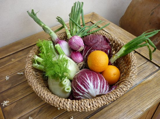 Organic Tuscany Cooking Classes: We would later turn these into risotto