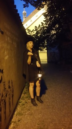 McGee's Ghost Tours of Prague: A GREAT story is told in this spot, if you're lucky...
