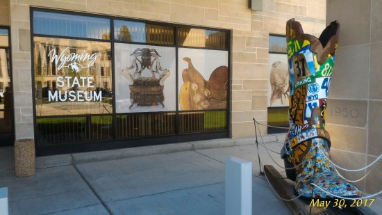 Wyoming State Museum: Entrance