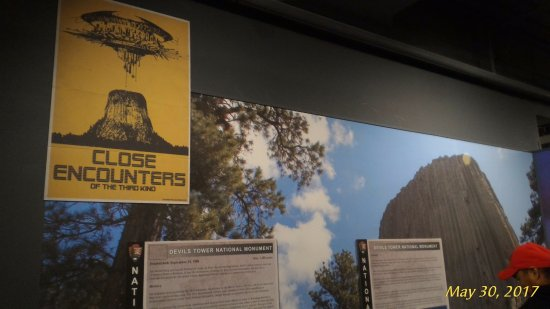 Wyoming State Museum: Devils Tower exhibit