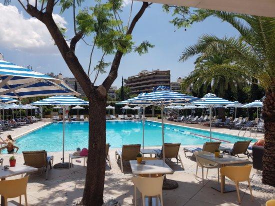 Pool Area Picture Of Hilton Athens Athens Tripadvisor