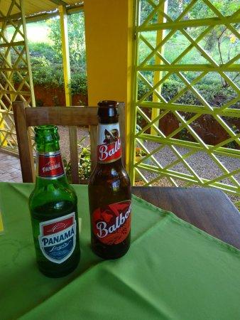 Las Lajas, Παναμάς: lecker Bierchen ;-)
