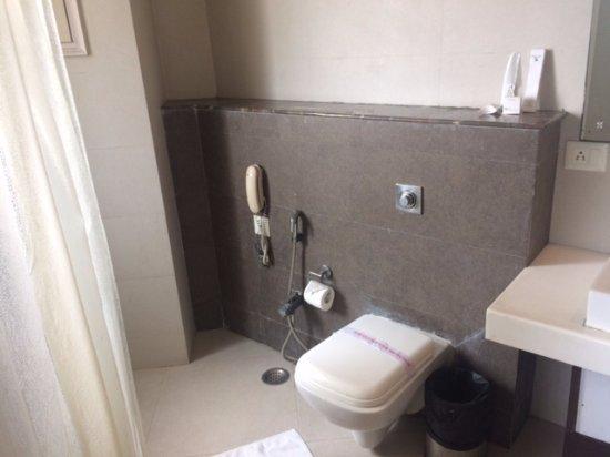 Hotel Golf View: washroom