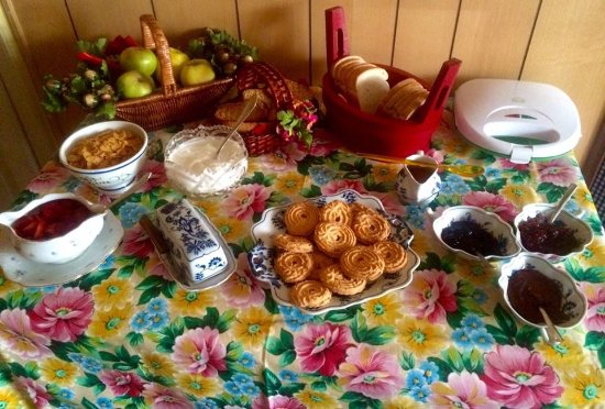 Ala di Stura, Ιταλία: La colazione