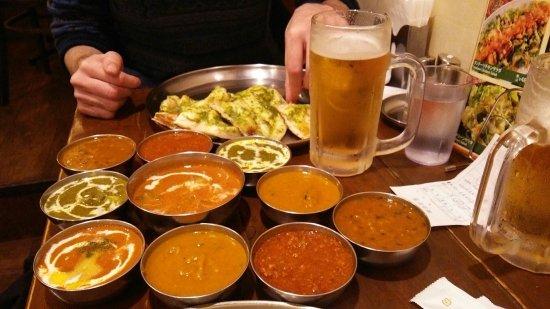 Currynabe Thali-ya Shinjuku Center Bldg: カレー祭り
