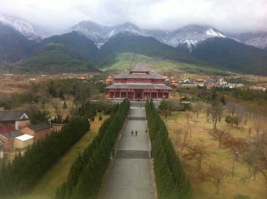Chongsheng Three Pagodas: Dali paysage