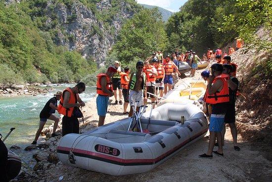 Rafting on Neretva: 2010
