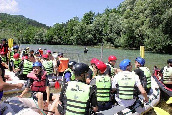 Rafting on Neretva: 2011