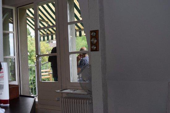 Apartments Justingerweg : Saloon small but beautifull Balcony