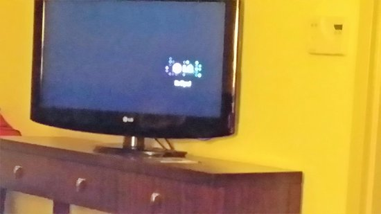 Embassy Suites by Hilton Savannah Airport: One of two mini tvx