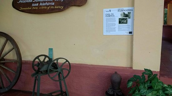 Hotel Fazenda Areia que Canta: museu da fazenda