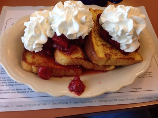 Vernon Rockville, CT: Strawberry French toast