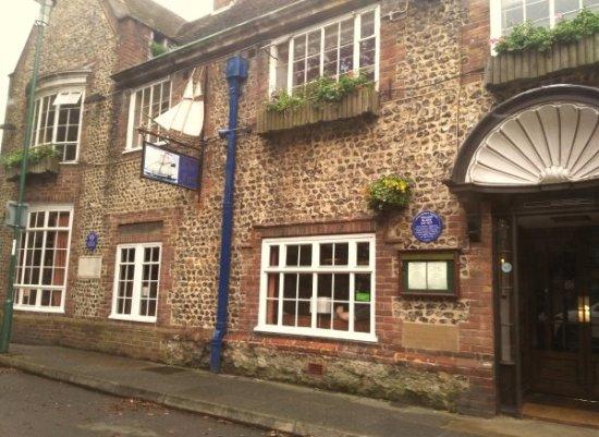 Felpham, UK: The old building