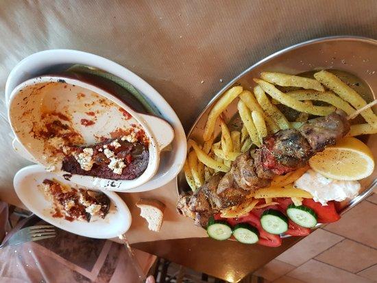 Levidi, Grækenland: Frisch und lecker