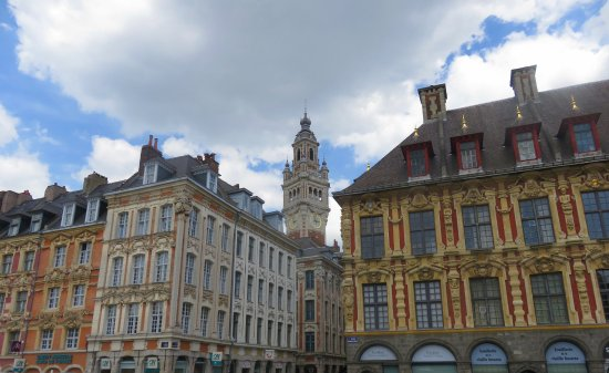 Part of the skyline from the Grand Place
