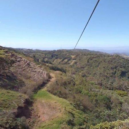 Monteverde Extremo Park: Canopy Superman - 1030 m