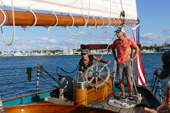 The Schooner Hindu, Hindu Charters: The Captain